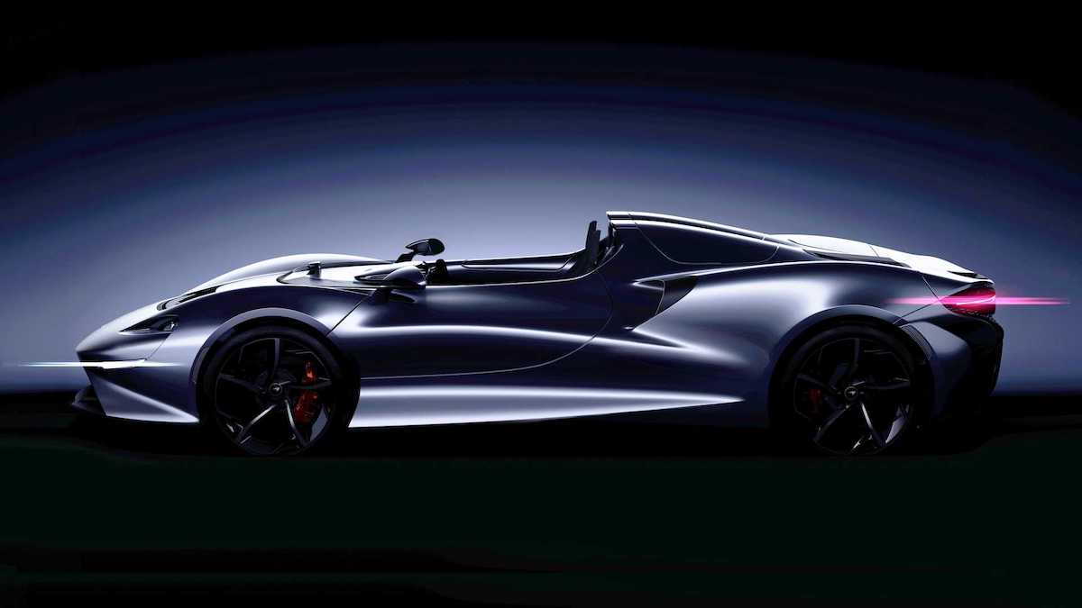 McLaren создал суперкар без крыши и боковых окон 1