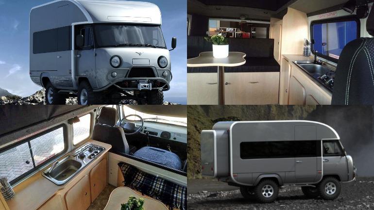 В сети показали новый УАЗ-452 «Буханка» 1