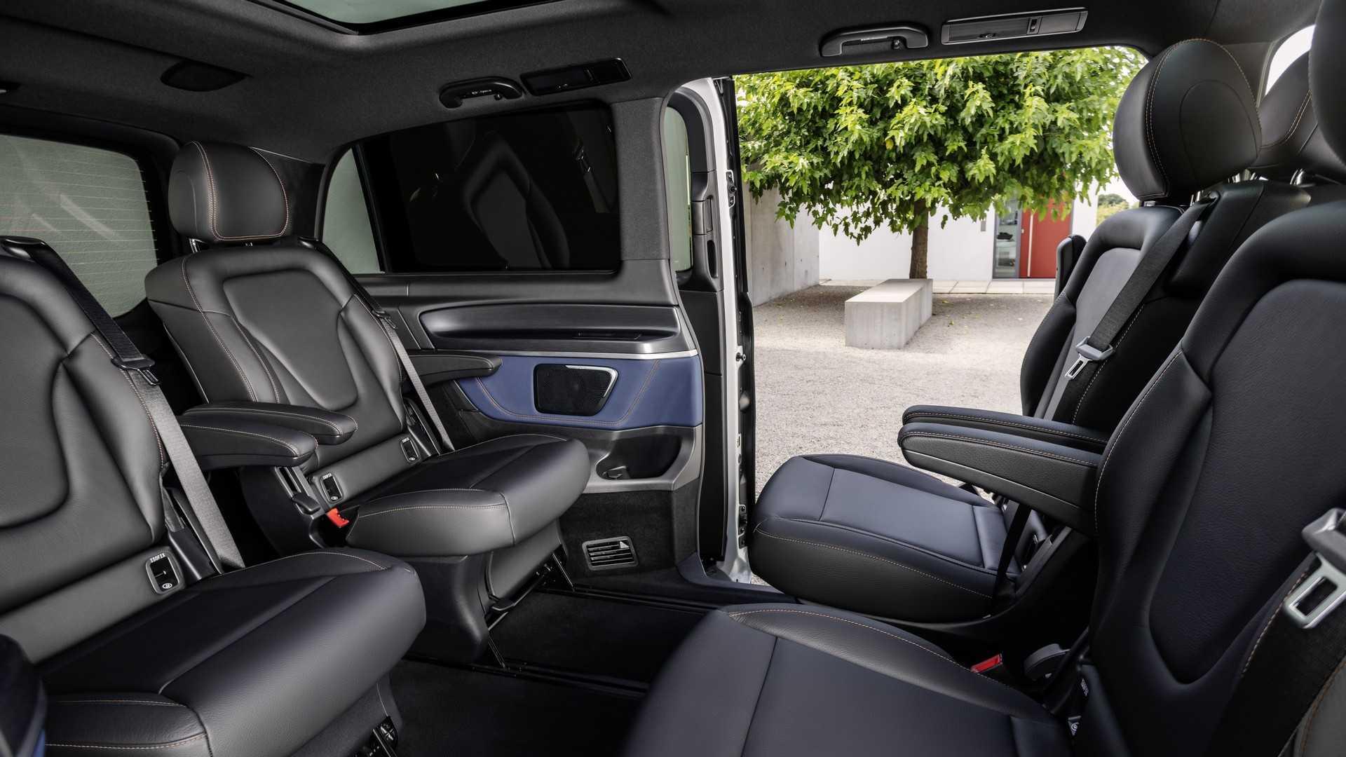 Mercedes-Benz представил первый в мире премиальный электровэн 3