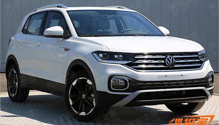 Опубликованы фото нового кроссовера Volkswagen Tacqua 1