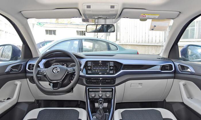 Опубликованы фото нового кроссовера Volkswagen Tacqua 2