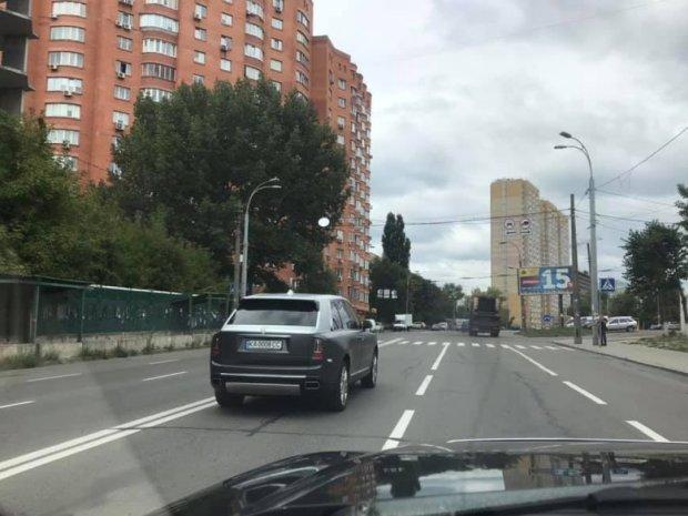 В Киеве замечен самый дорогой автомобиль мира 1