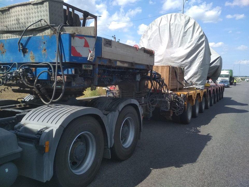 Перегруз фуры обошёлся перевозчику в 1 млн грн штрафа 1