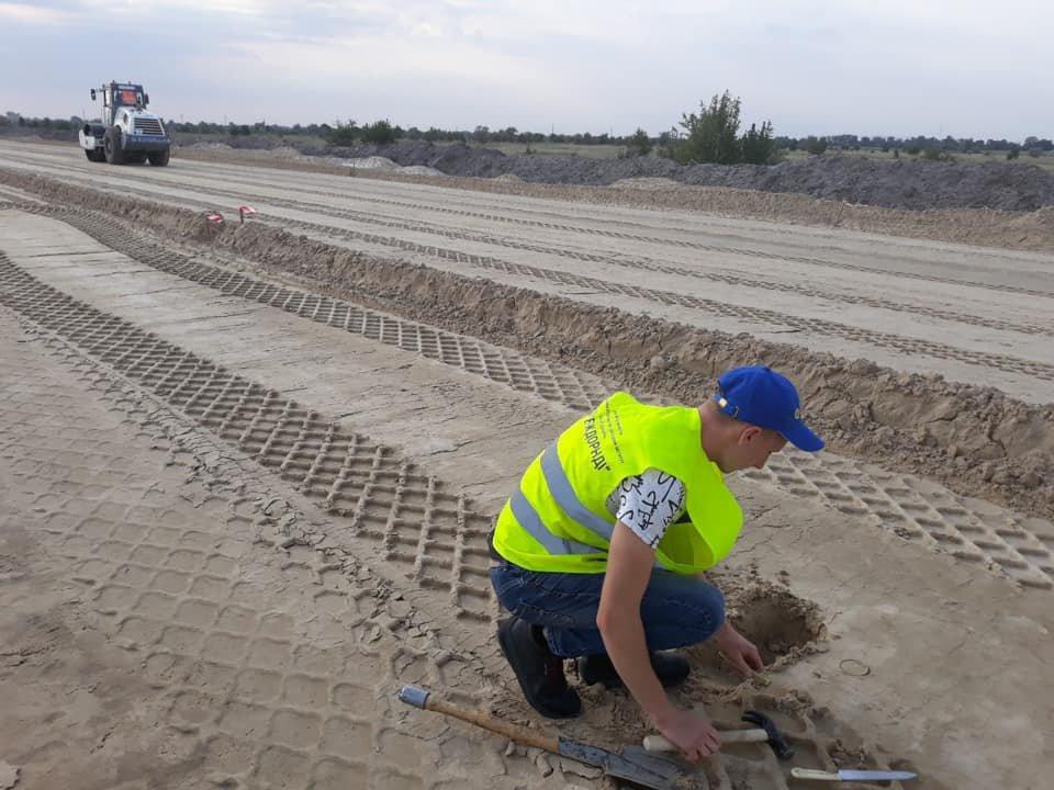 Как проходит строительство трассы из Киева в Днепр 3