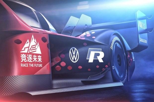 Volkswagen «украсил» электрический ID.R для нового рекорда 2
