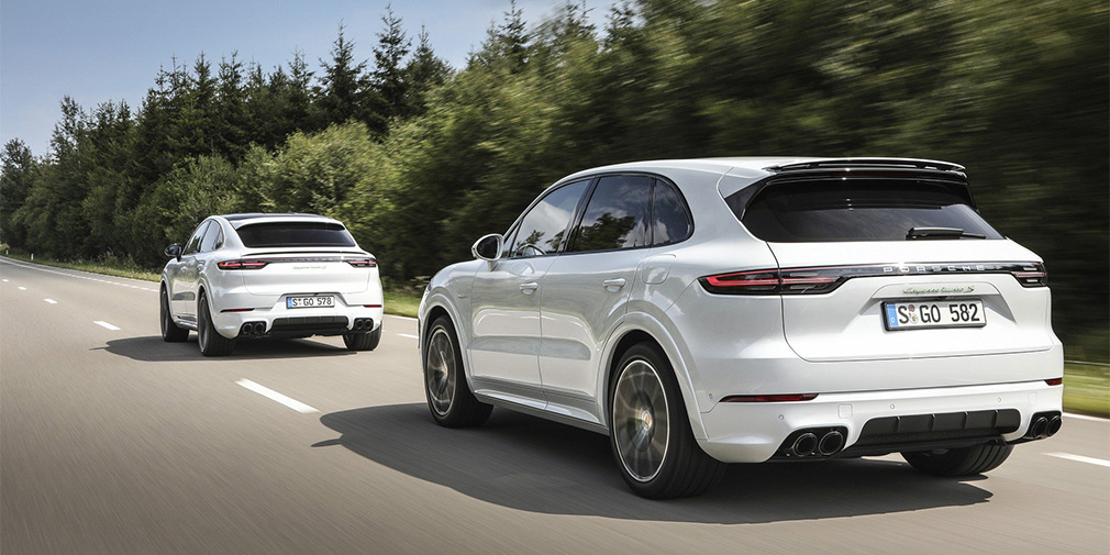 Porsche представила мощнейший Cayenne в истории 2
