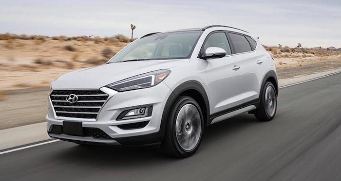 Hyundai представил обновленный кроссовер Tucson 1