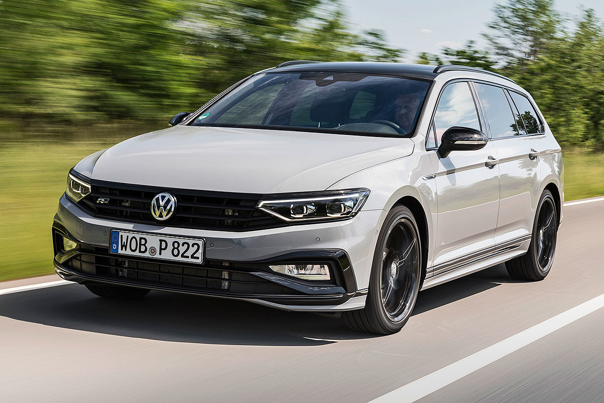 Первый тест Volkswagen Passat R-Line 1