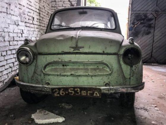 В Украине нашли редкий «Запорожец» 1