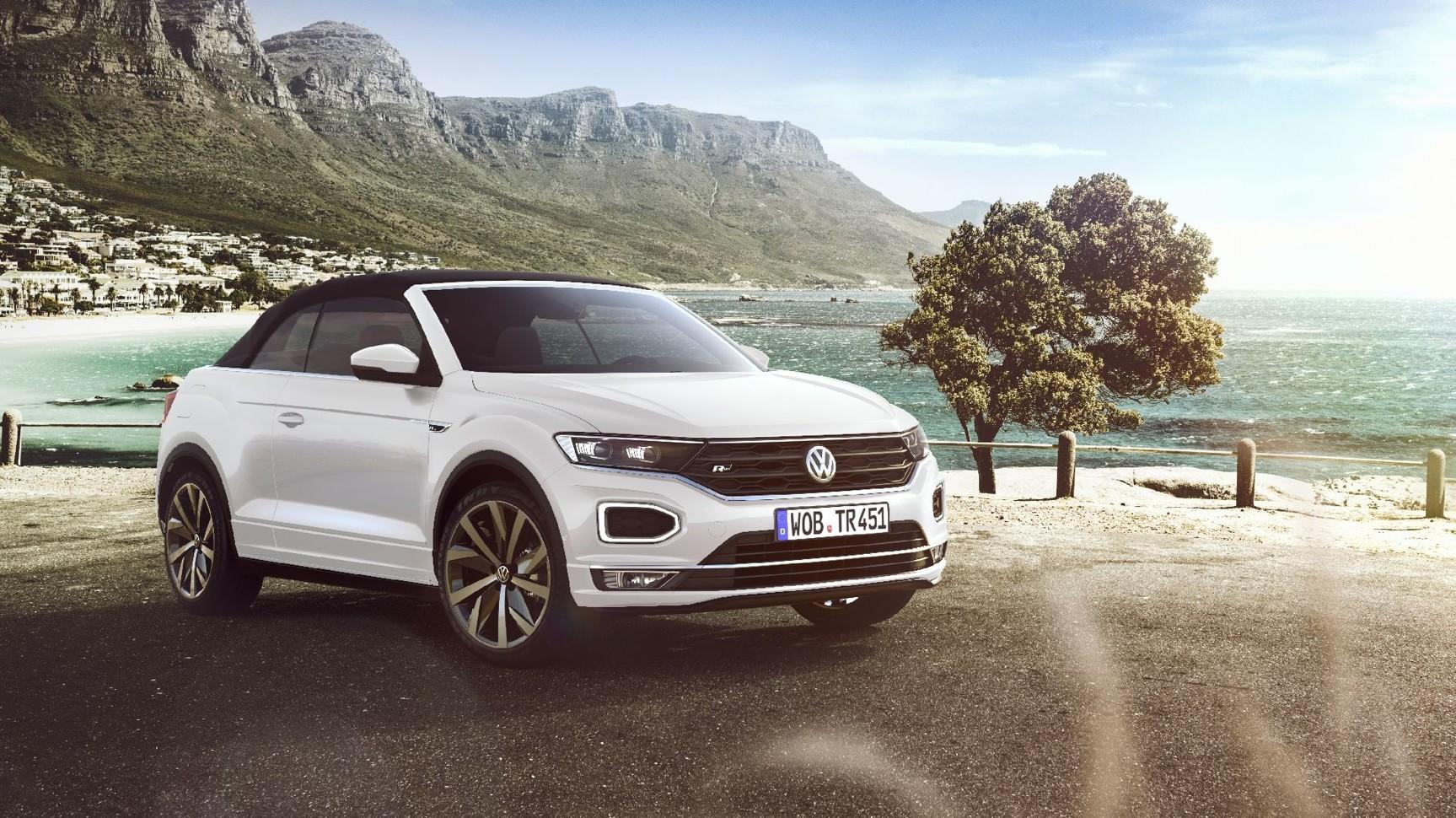 У Volkswagen появился стильный кроссовер без крыши 1