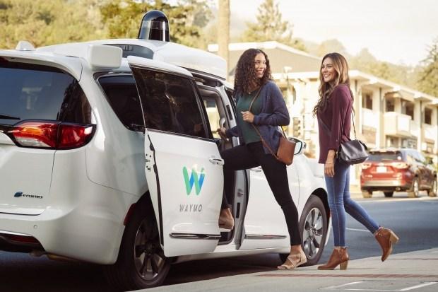 Waymo запускает беспилотные машины без водителя-тестировщика 1