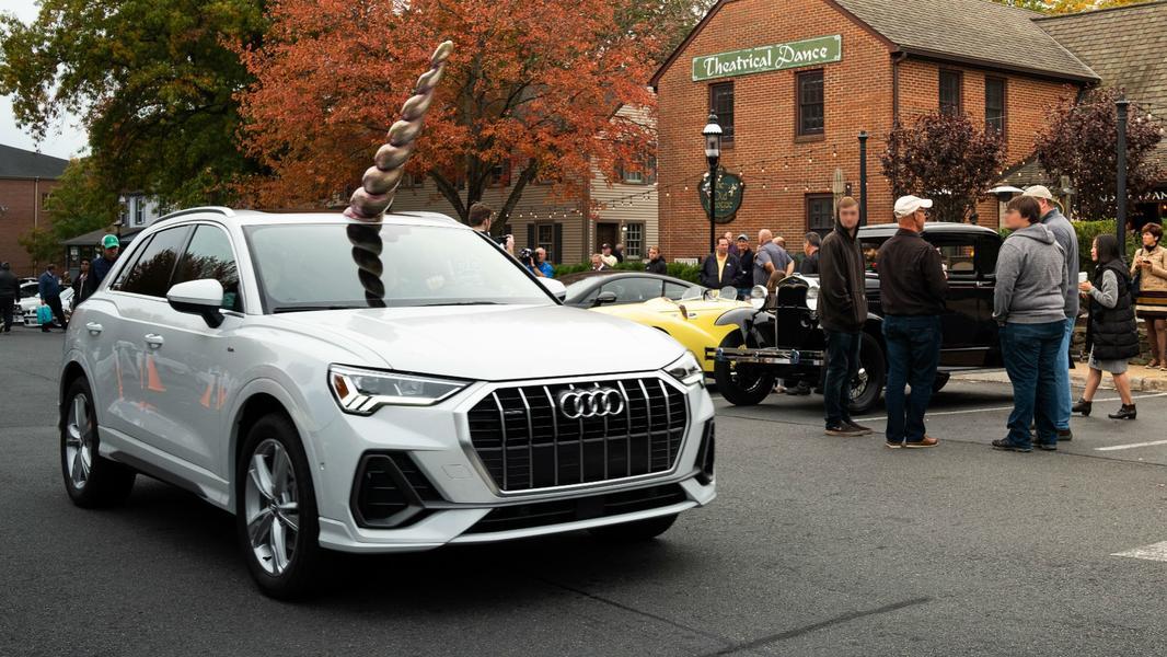 Audi Q3 «отрастил» рога 1