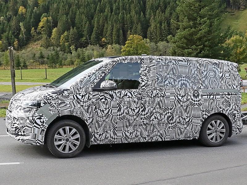 Volkswagen Transporter станет «маленьким» 1