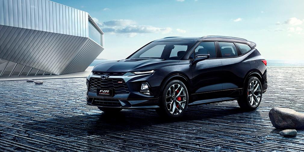 Chevrolet анонсировал семиместную версию нового Blazer 1