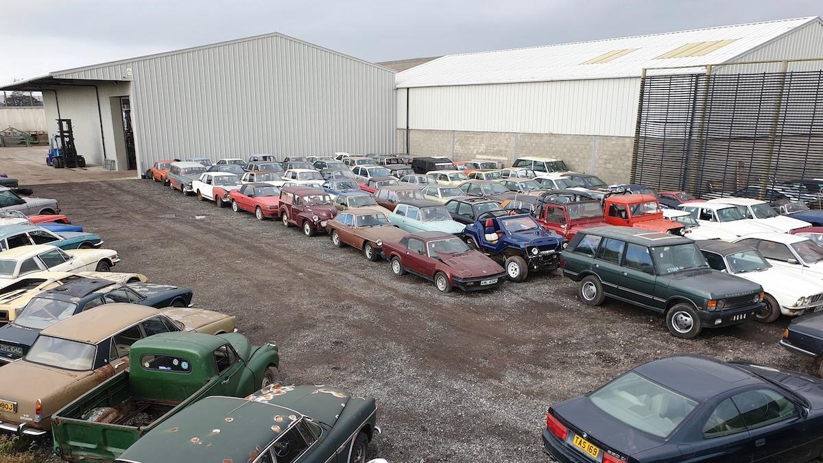 В Великобритании продают 135 редких автомобилей, изъятых судом 2
