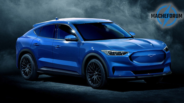 Каким может быть кроссовер Ford Mustang 1