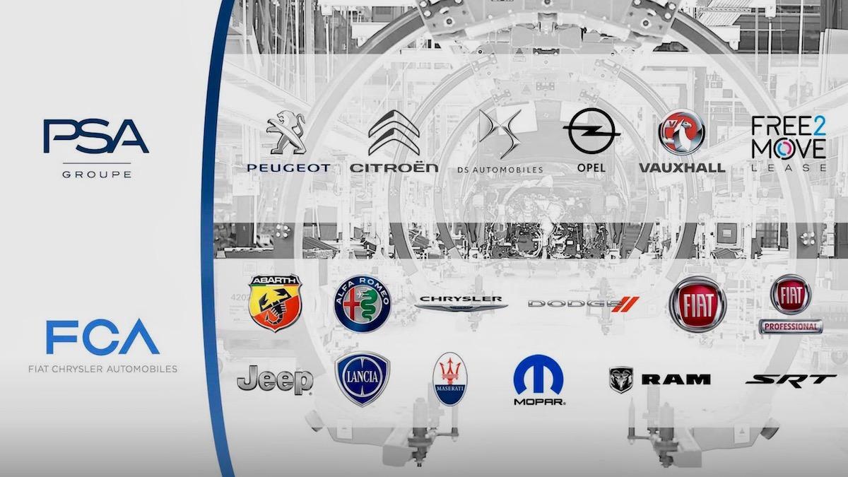 Fiat Chrysler и Peugeot Citroen объединились 1