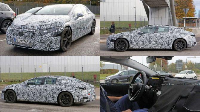 Mercedes-Benz EQC заметили во время испытаний 1