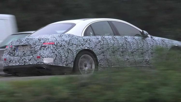 Новый Mercedes-Benz S-Class показался на фото 2