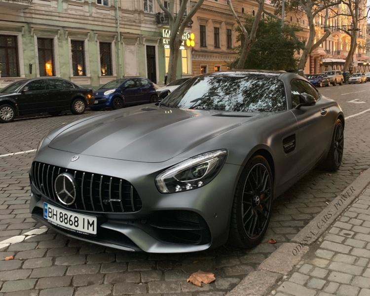 Новейший Mercedes-AMG GT C замечен в Украине 1