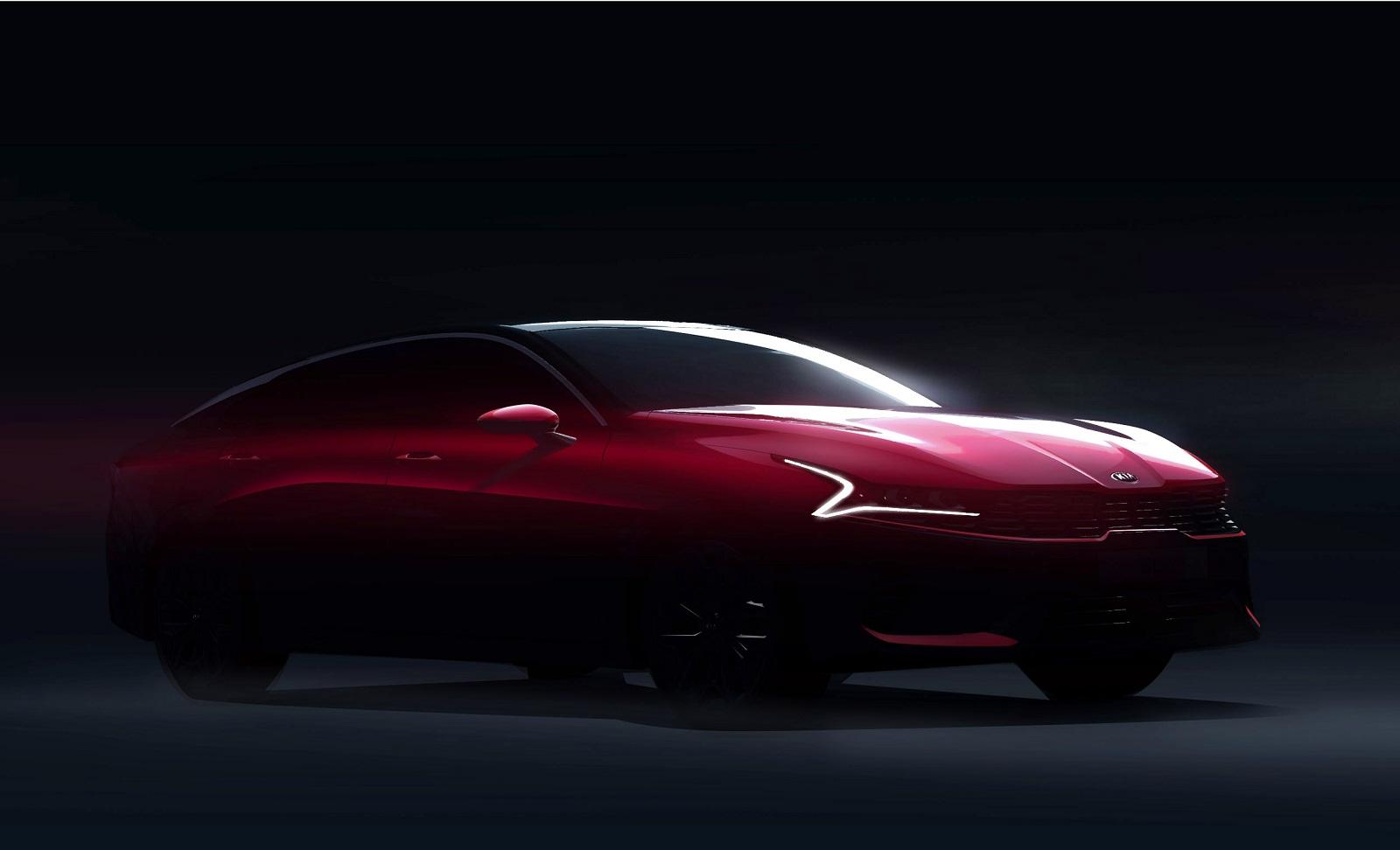 Опубликованы первые изображения новой Kia Optima 1