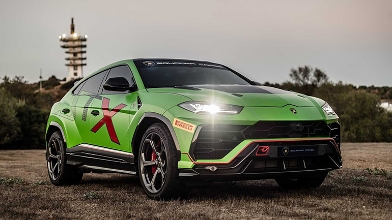 Lamborghini Urus готовится к гонкам 1