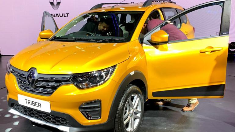 Renault запустила производство нового Triber 1