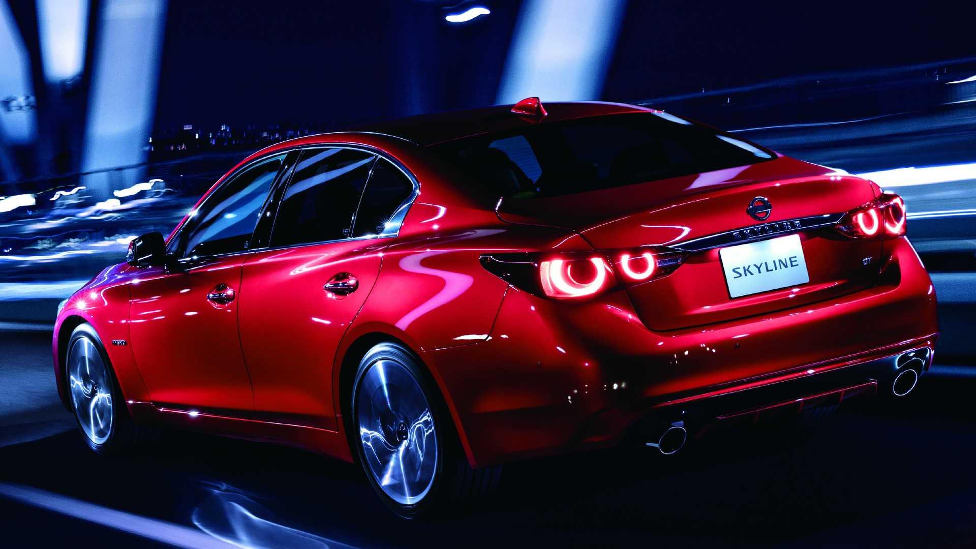 Nissan замаскировала седан Skyline под GT-R 1