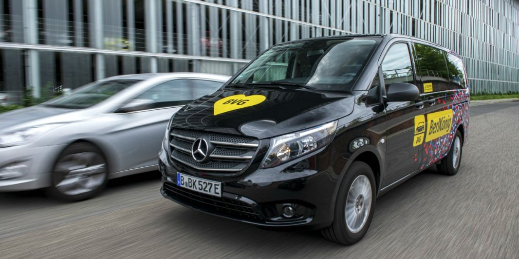 Mercedes выпустил новый электрический минивэн 1