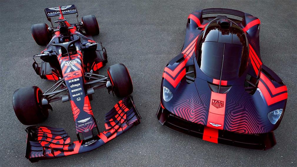 Aston Martin показал новый гиперкар Valkyrie на гоночном треке 1