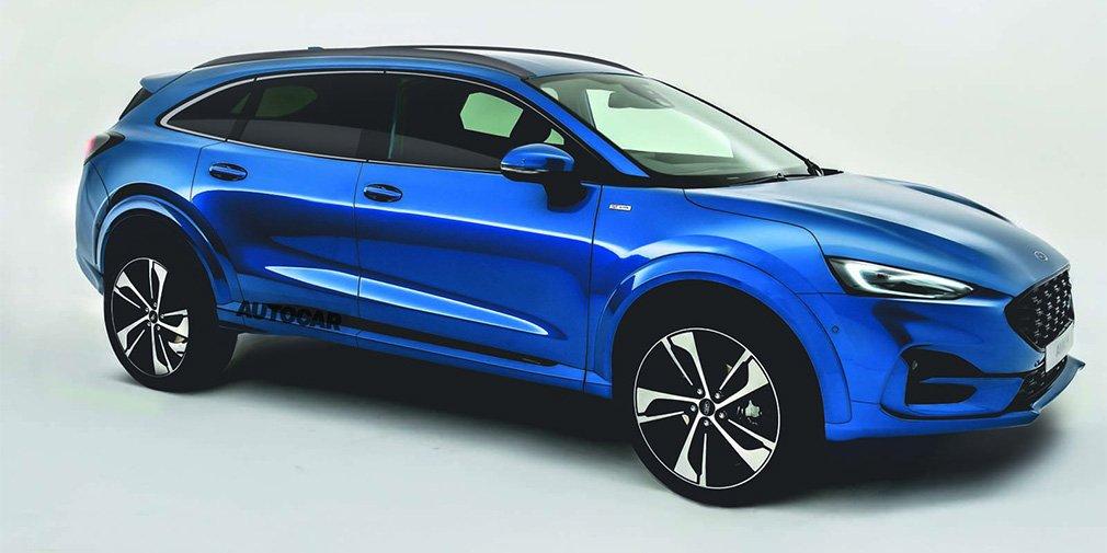 Ford заменит Mondeo, S-Max и Galaxy вседорожным универсалом 1