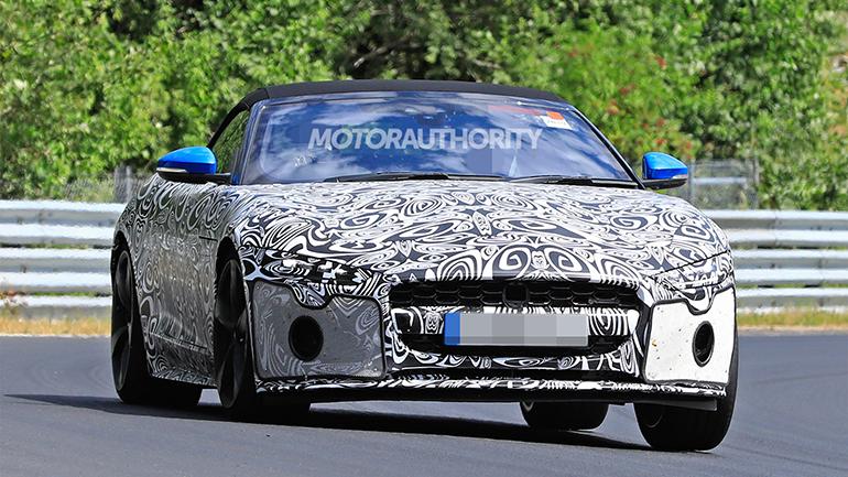 Новый Jaguar F-Type вышел на тесты 1