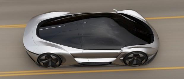 McLaren рассказал о будущем электрокаре 1