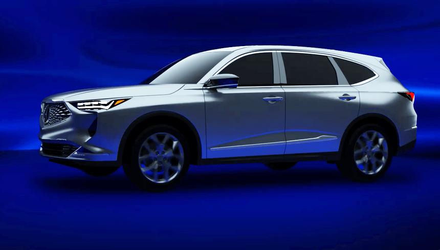 Будущие Acura MDX и TLX засветились в недрах медиасистемы 1