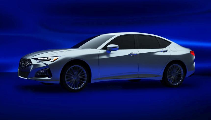 Будущие Acura MDX и TLX засветились в недрах медиасистемы 2