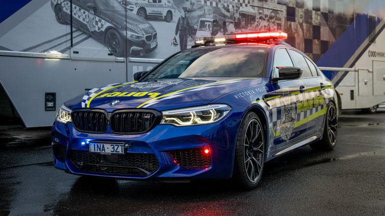 BMW M5 поступил на службу в полицию 1