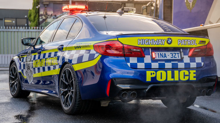 BMW M5 поступил на службу в полицию 2