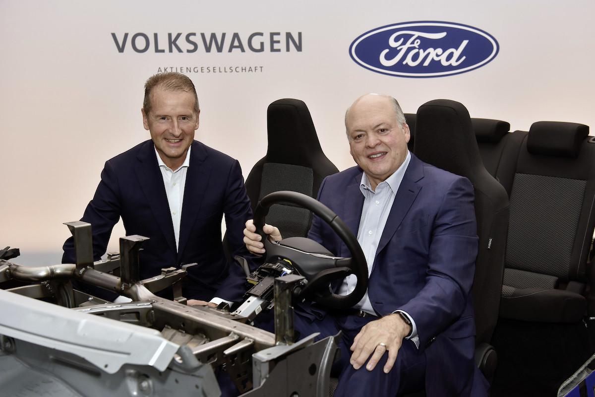 Ford позаимствует платформу VW для электромобилей 1