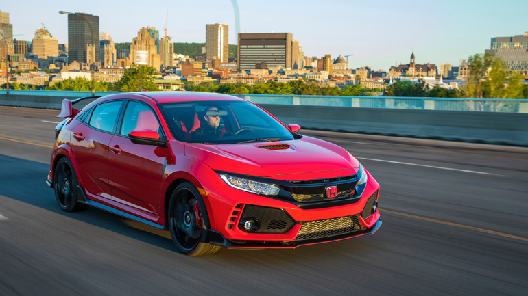 Опубликованы цены обновлённого Honda Civic Type R 1