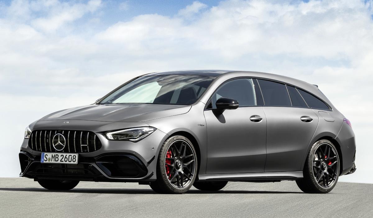 «Заряженный» Mercedes-AMG CLA 45 превратился в универсал 3
