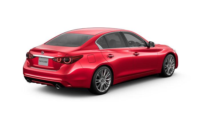 Nissan представил обновленный седан Skyline 2
