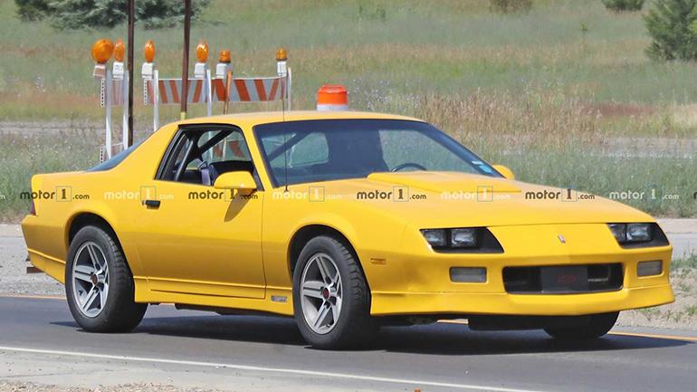 «Старенький» Chevrolet Camaro вышел на тесты 1