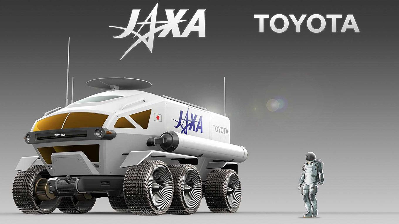Toyota построит луноход и это не шутка 1