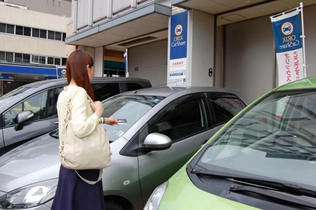 Японцы арендуют автомобили для того, чтобы поспать или зарядить телефон 1