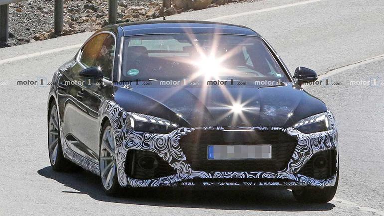 Audi RS5 Sportback впервые появилась на снимках 1