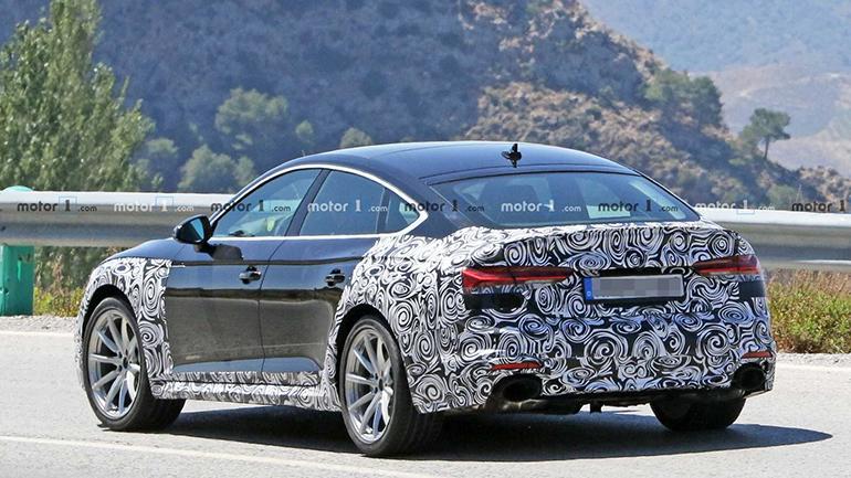 Audi RS5 Sportback впервые появилась на снимках 2