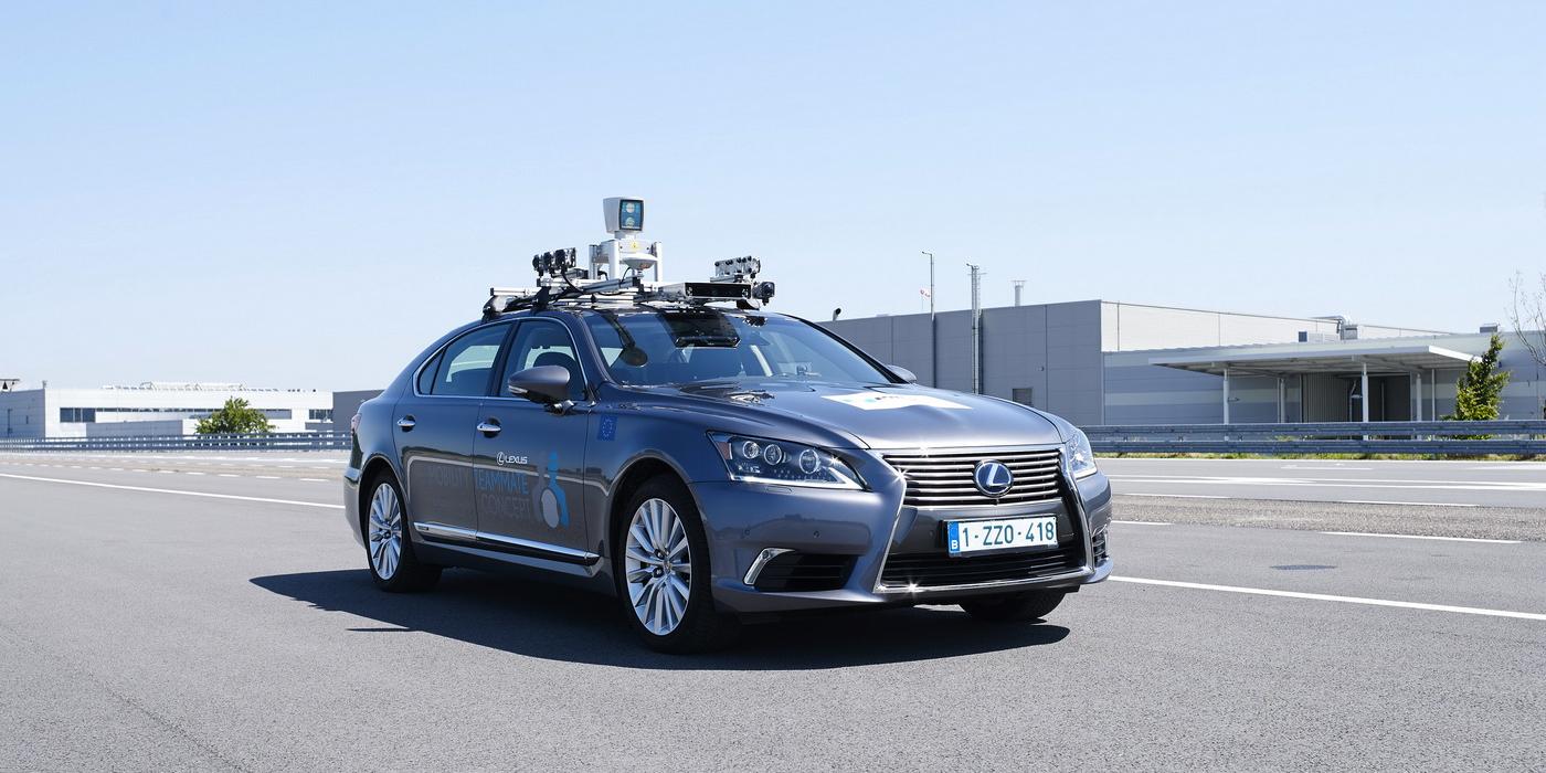Lexus выведет беспилотники на общественные дороги в Бельгии 1