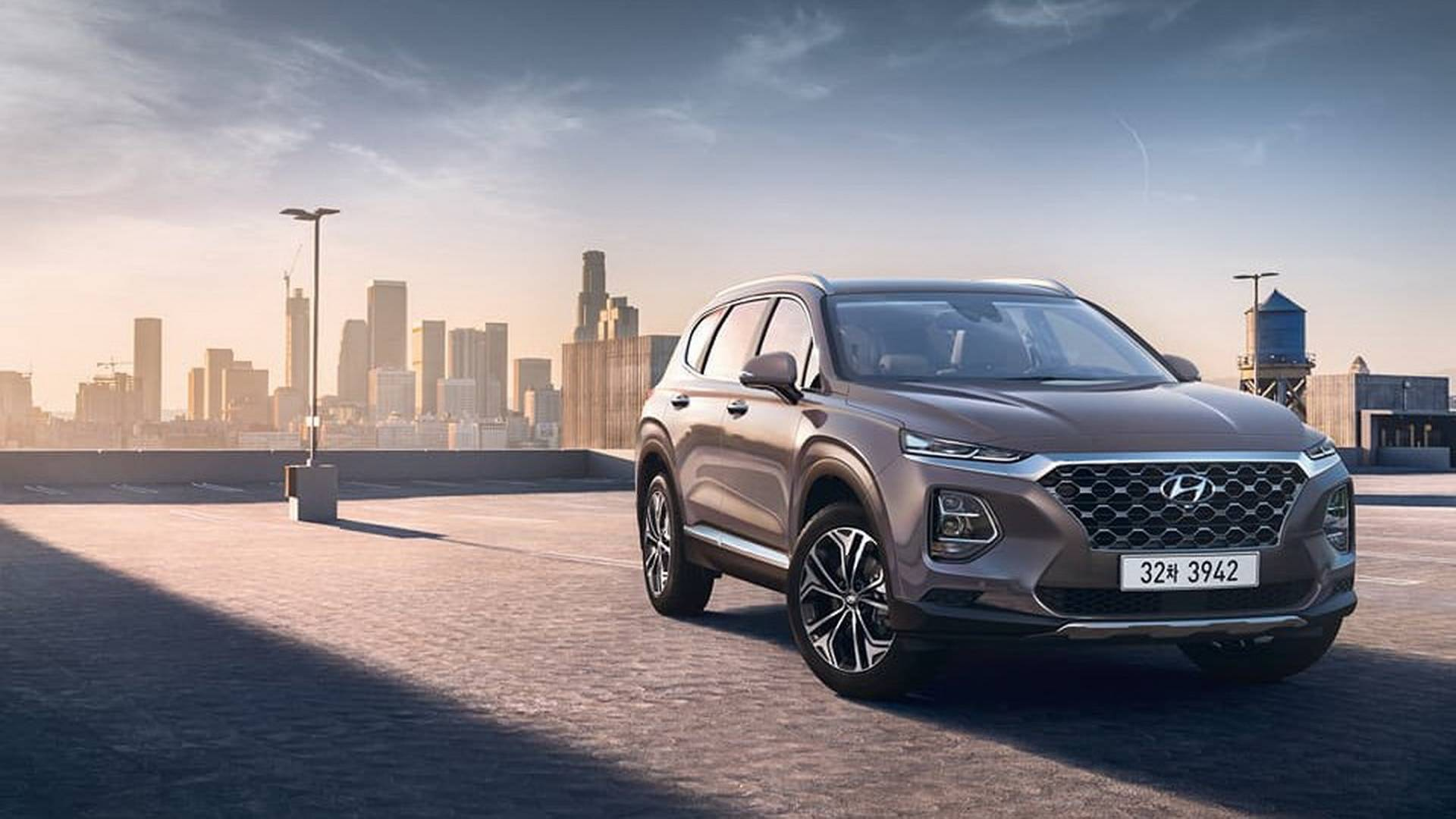 Hyundai продемонстрировал салон нового Santa Fe 2