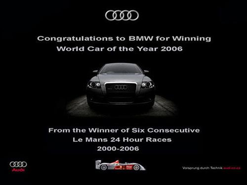 Volkswagen и BMW продолжают «троллить» друг друга 3