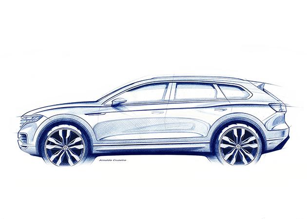 Volkswagen объявил дату премьеры нового Touareg 1